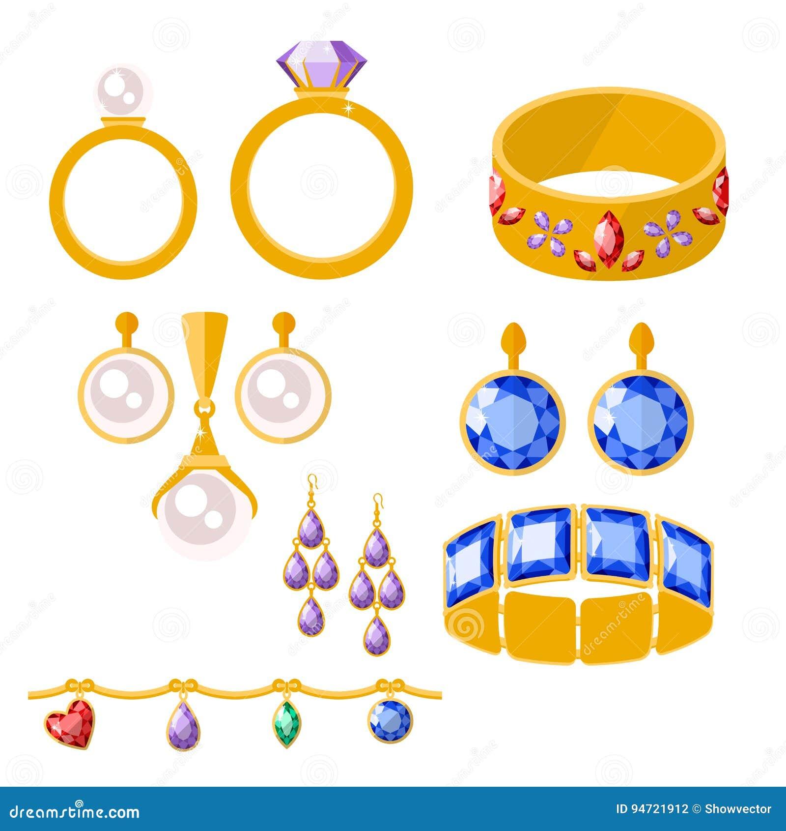 ejemplo precioso minucioso fino de lujo del vector de la joyera del oro de la joyera del diamante de oro tradicional de los bra