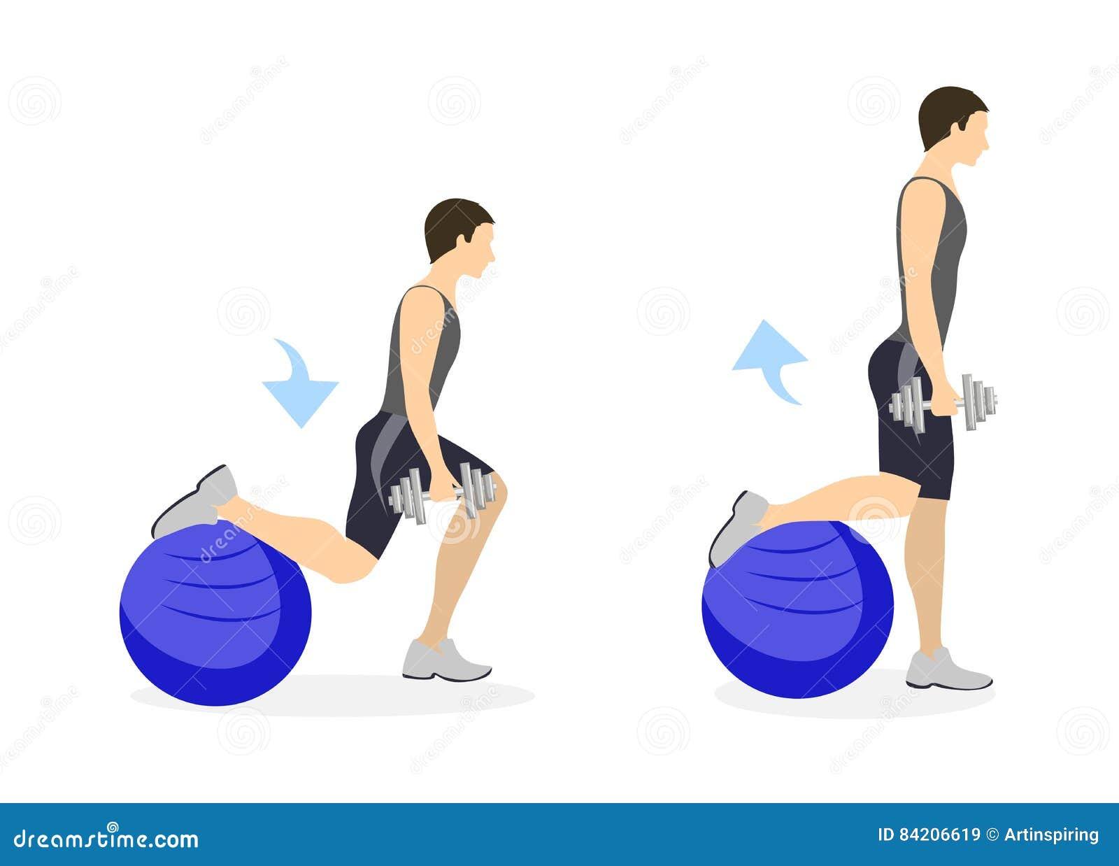 Para hombres de piernas ejercicios