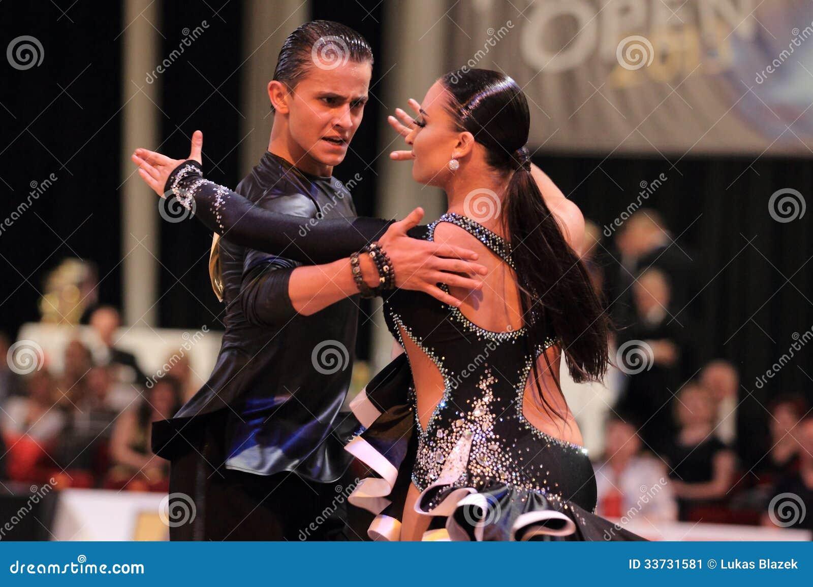 Ekaterina Sharanova и Leonid Tishkin - латинские танцы