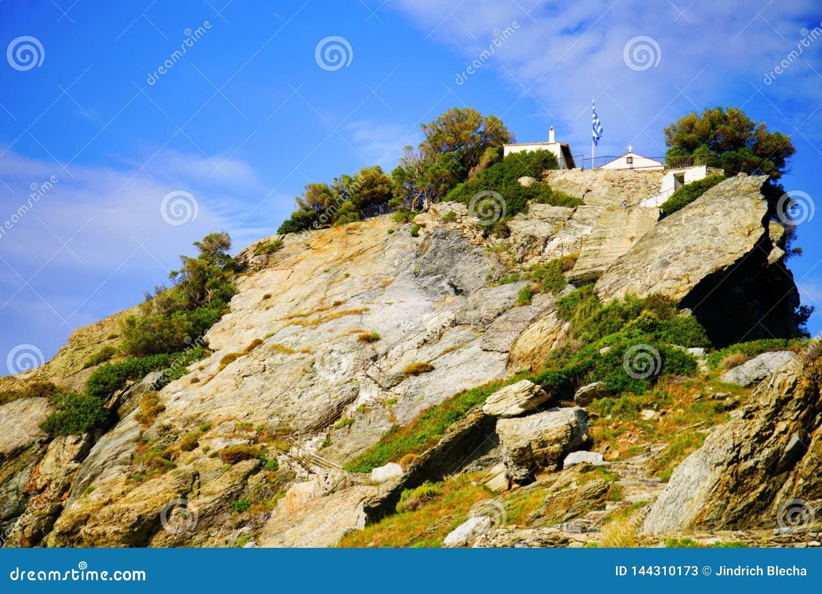 Ekklisia Agios Ioannis Chapel, Skopelos, Grécia