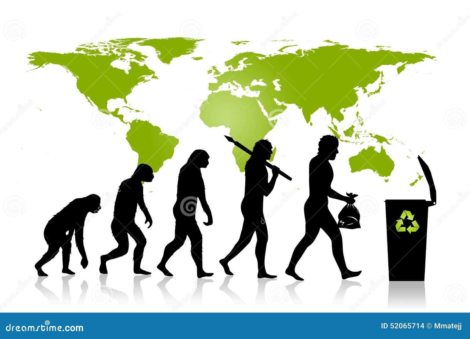 Ekologia - Przetwarza ewolucję
