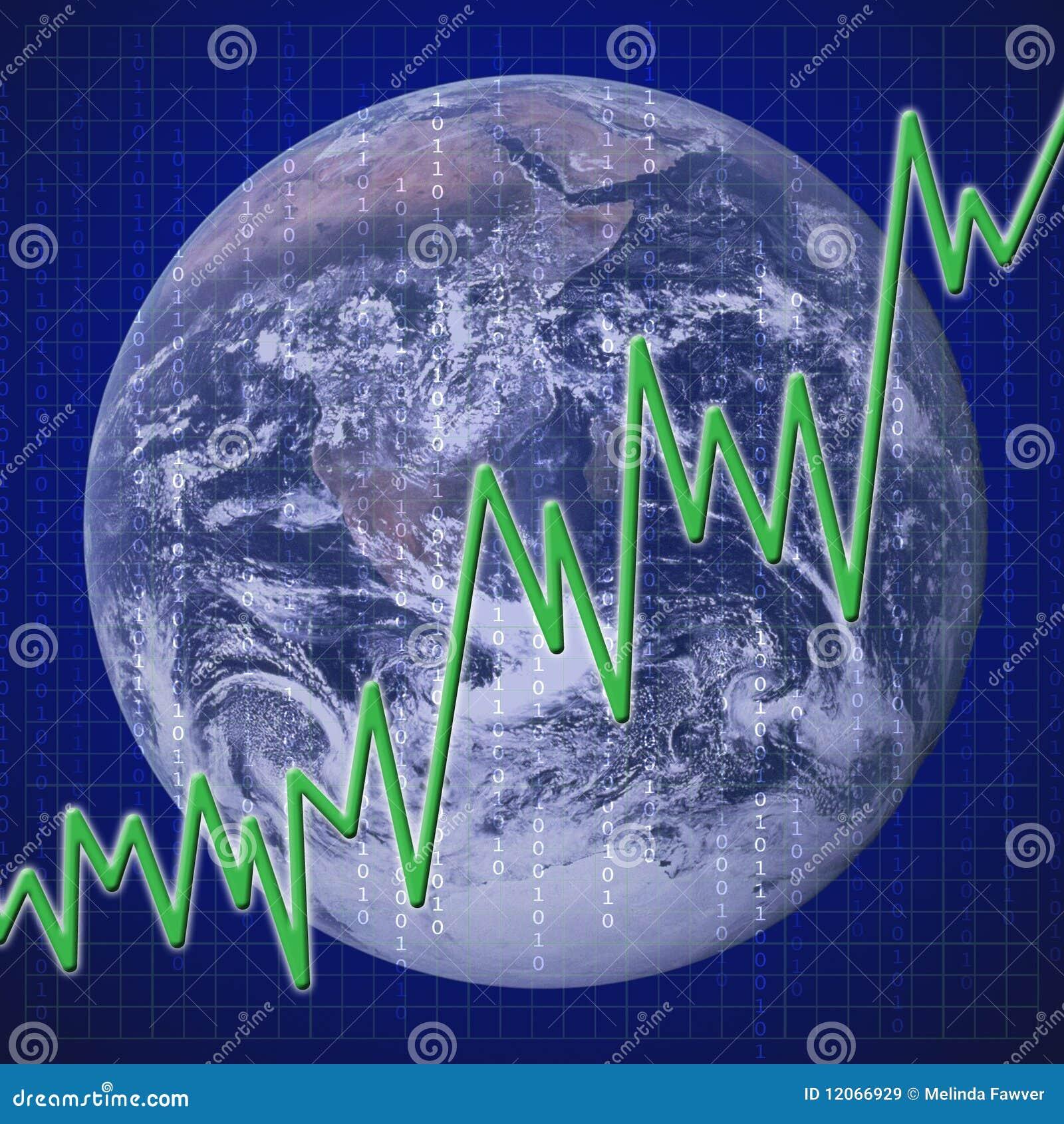 Ekonomiczny globalny wyzdrowienie