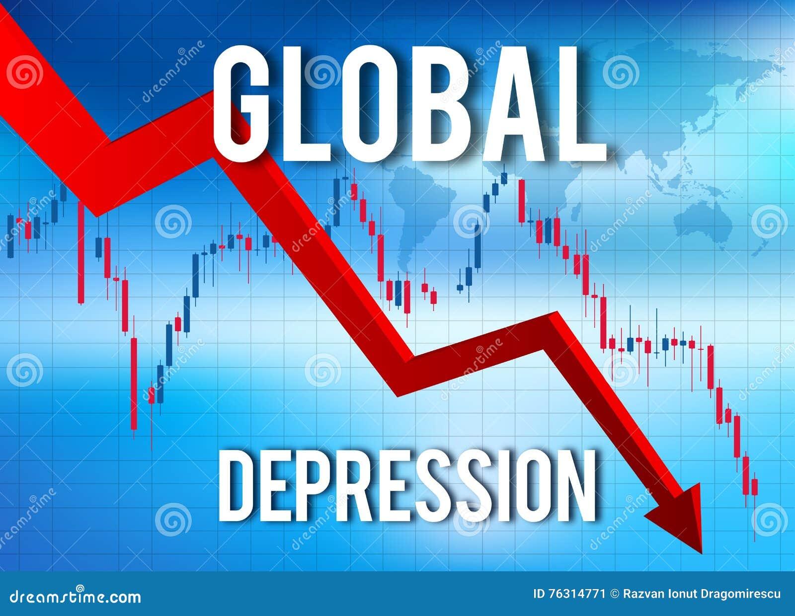 Ekonomiczny zawalenie się kryzys finansowy