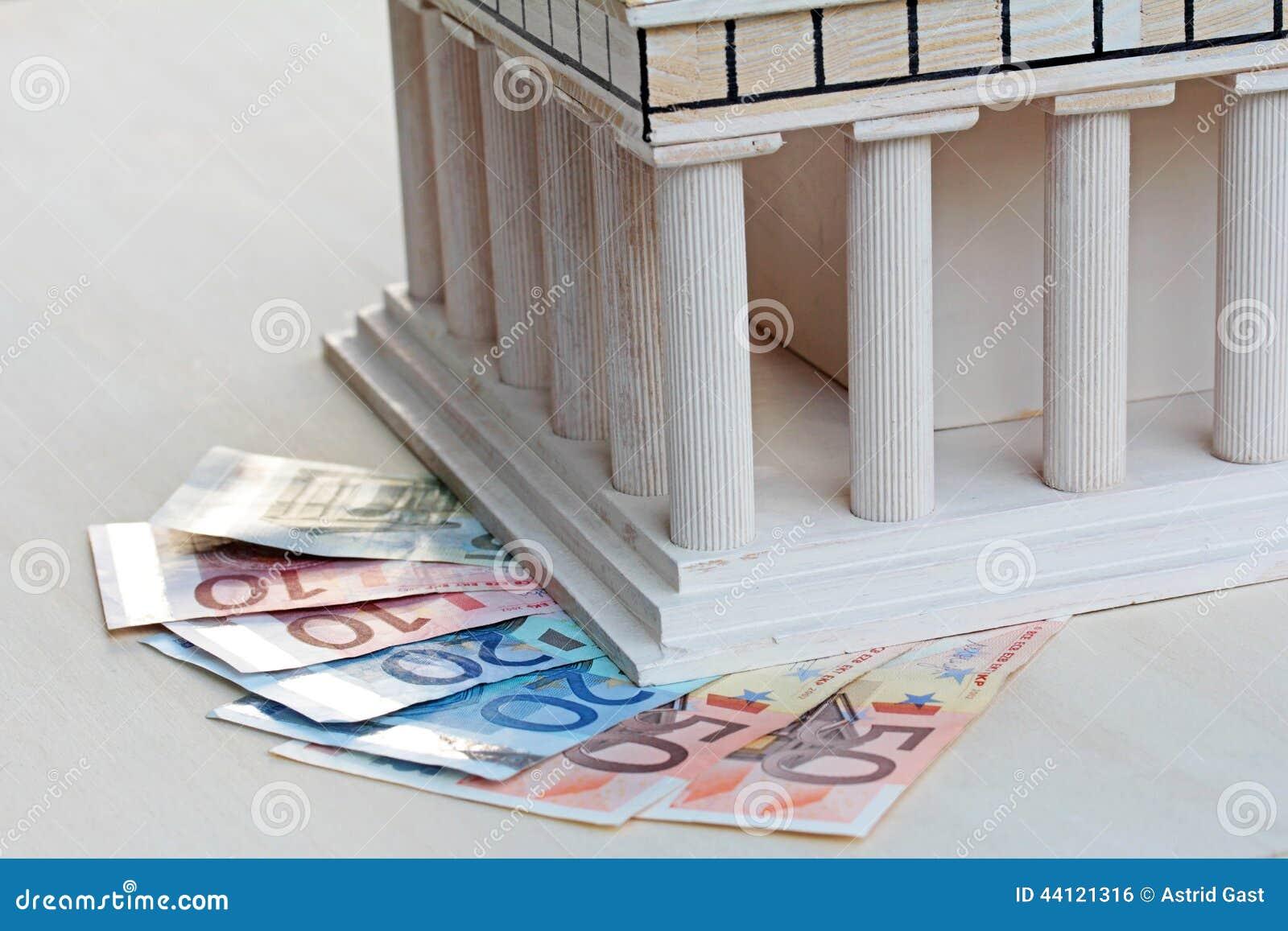 Ekonomiskt stöd för Grekland