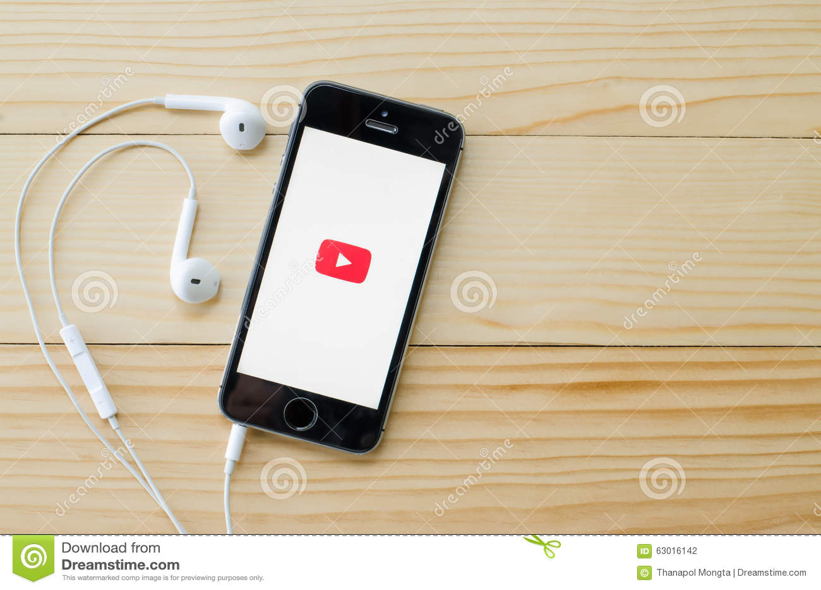 Ekran strzelający YouTube