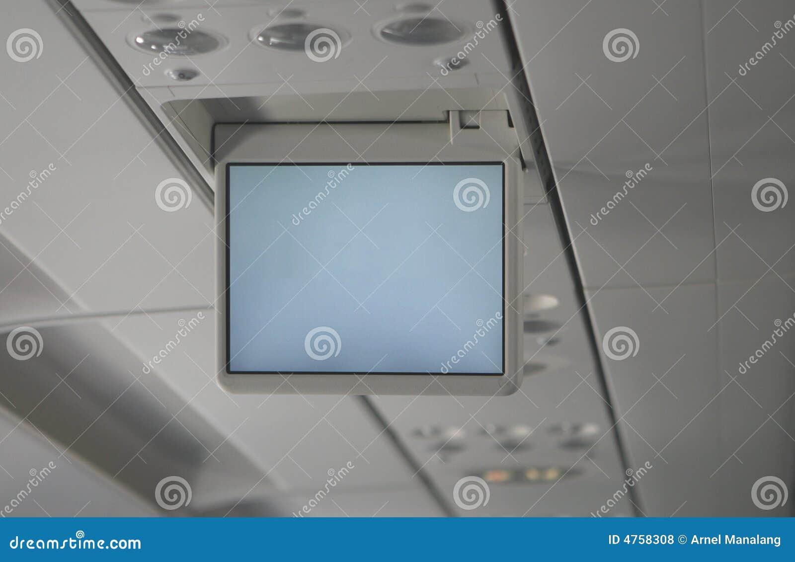 Ekran wideo samolotu