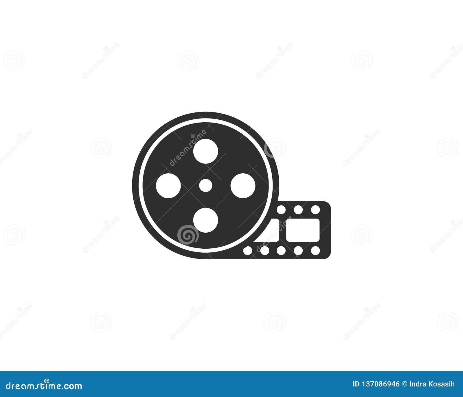 Ekranowej rolki logo