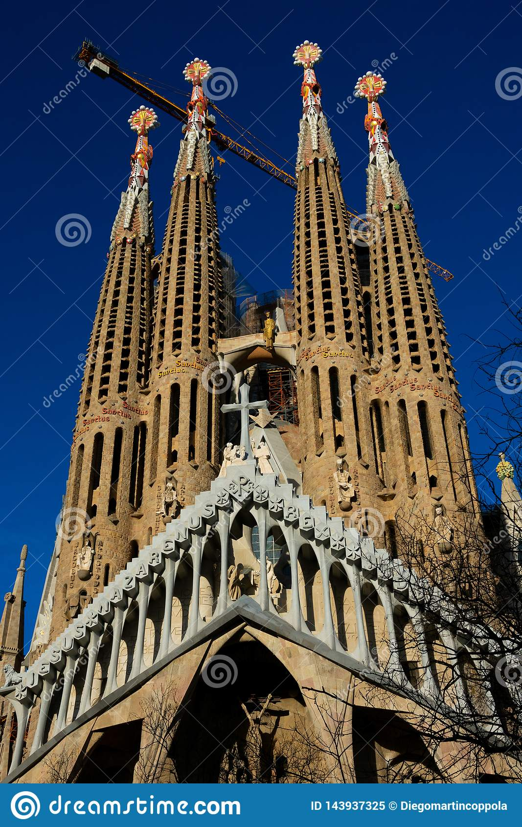 Ekspiacyjny kościół Święty rodziny Templo Expiatorio de los angeles Sagrada Familia