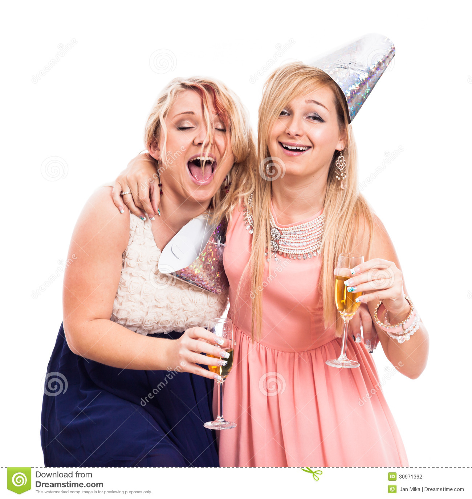 Betrunkene Mädchen
