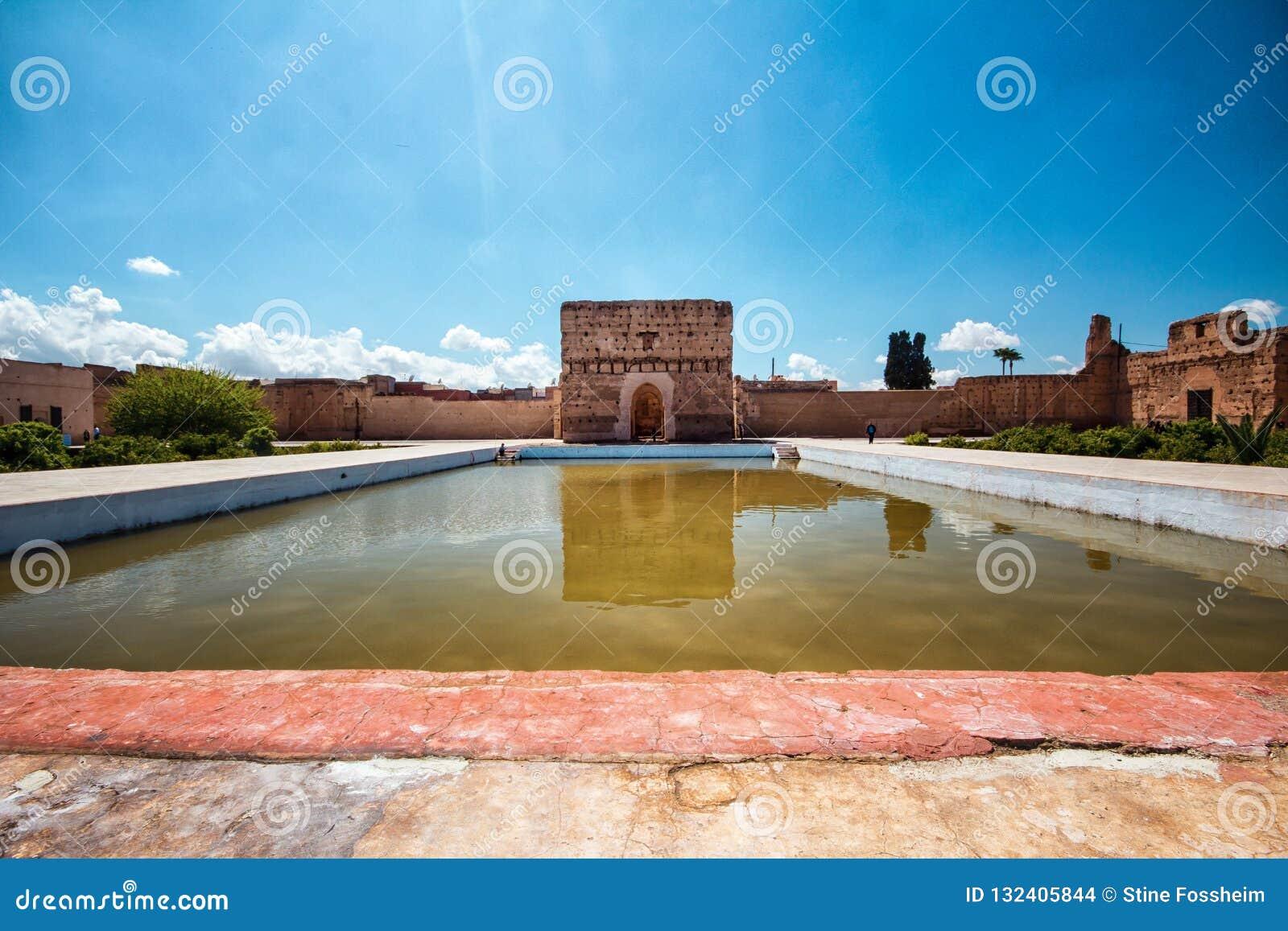 El巴迪宫殿,马拉喀什,Marocco