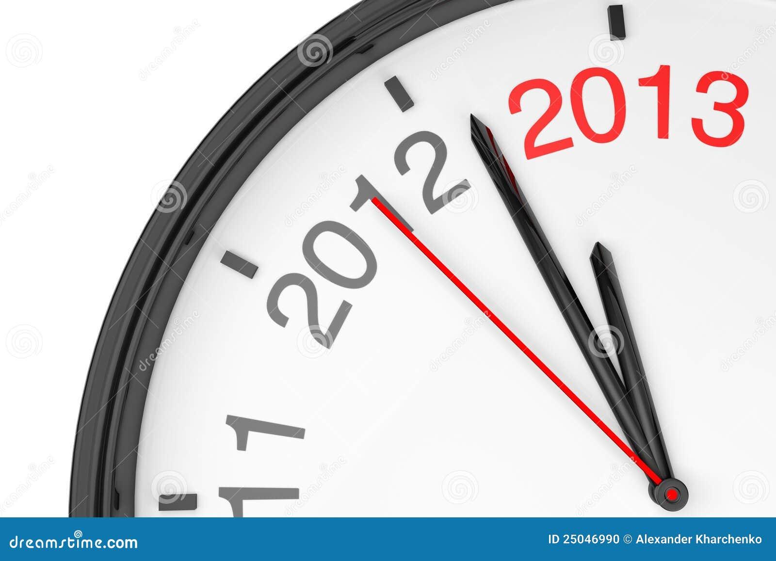 El año 2013 se está acercando