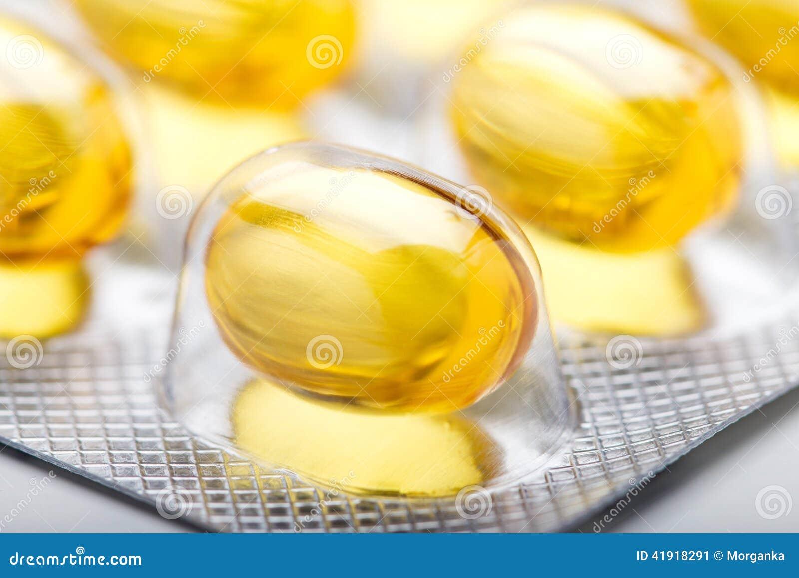 El aceite de pescado encapsula el primer