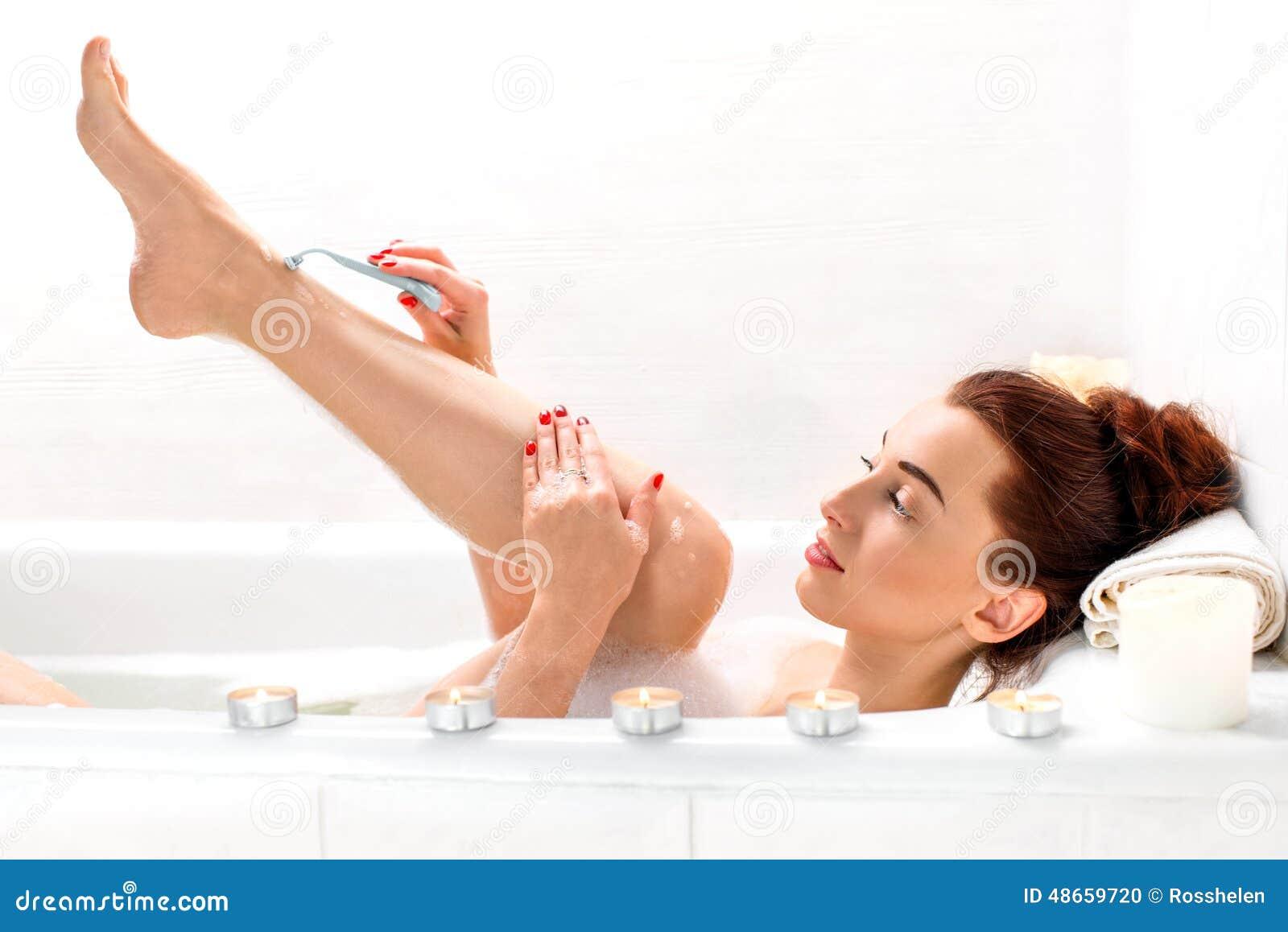El afeitar de la mujer