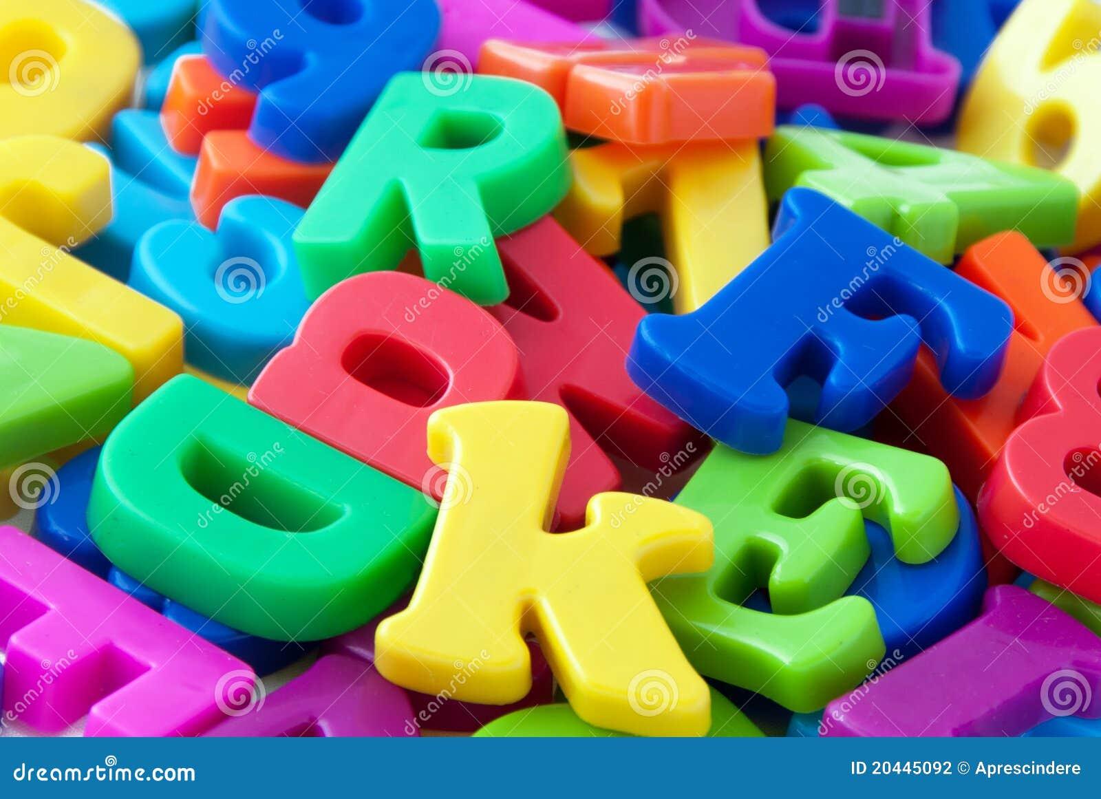 El alfabeto pone letras al fondo