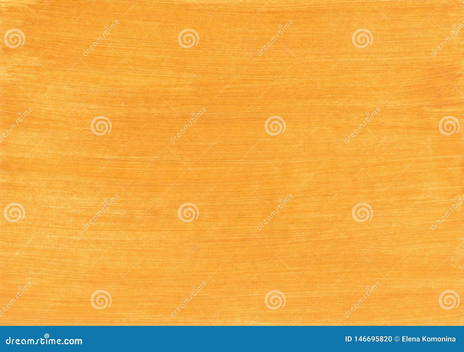 El amarillo pintó textura, el fondo y el papel pintado de madera