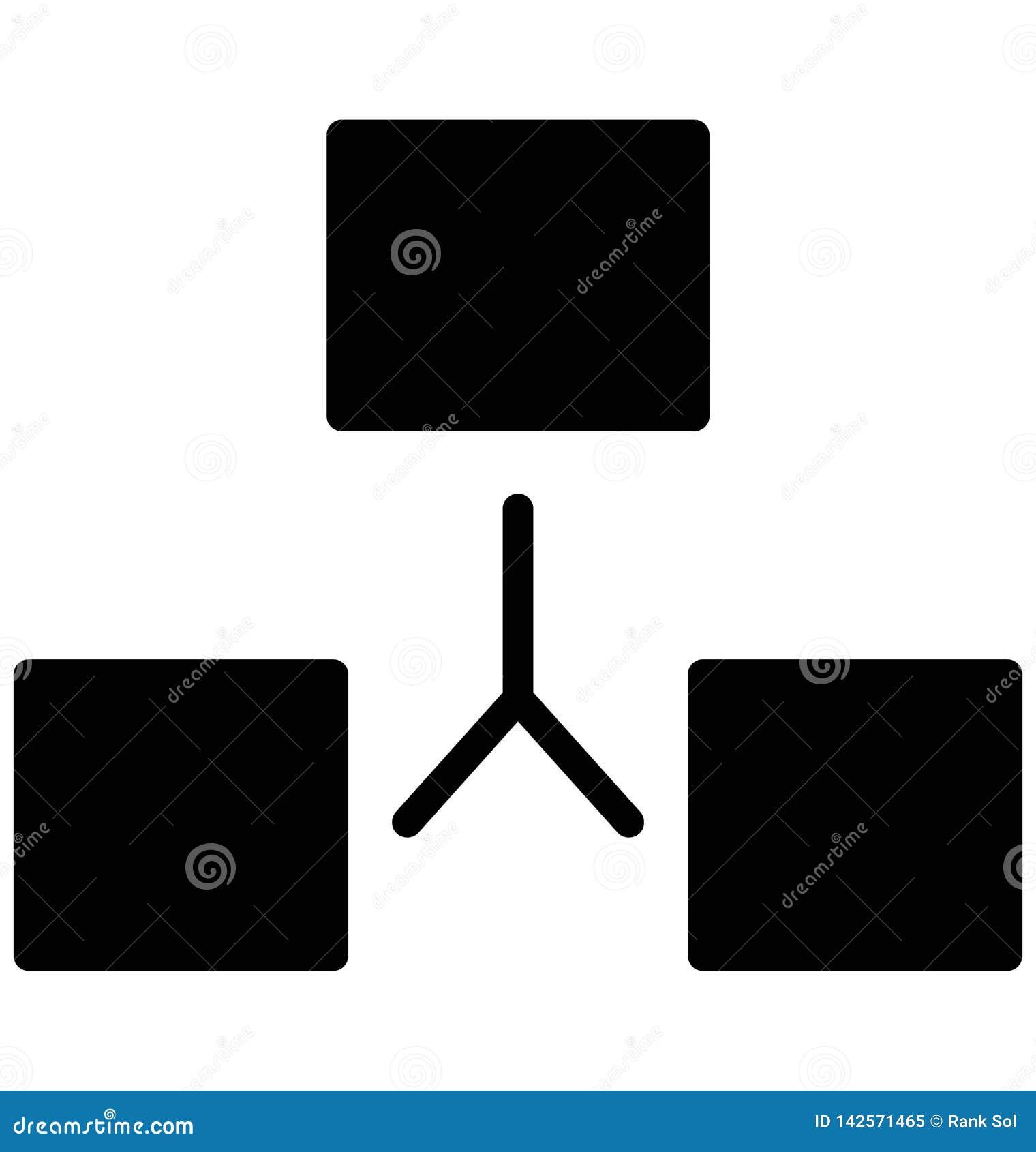El App aisló el icono del vector que puede modificarse o corregir fácilmente
