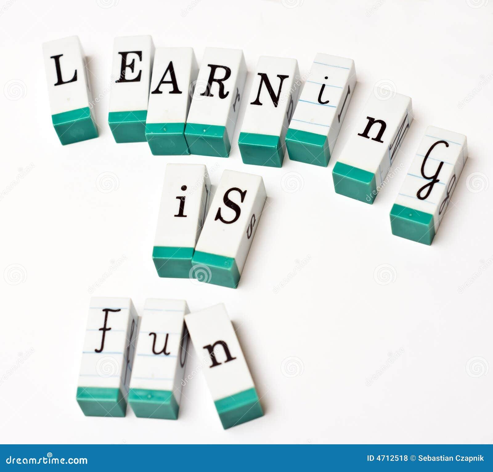 El aprendizaje es diversión