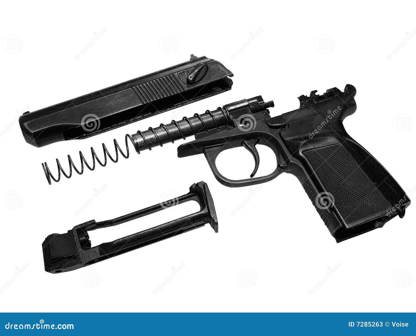 El arma analizó