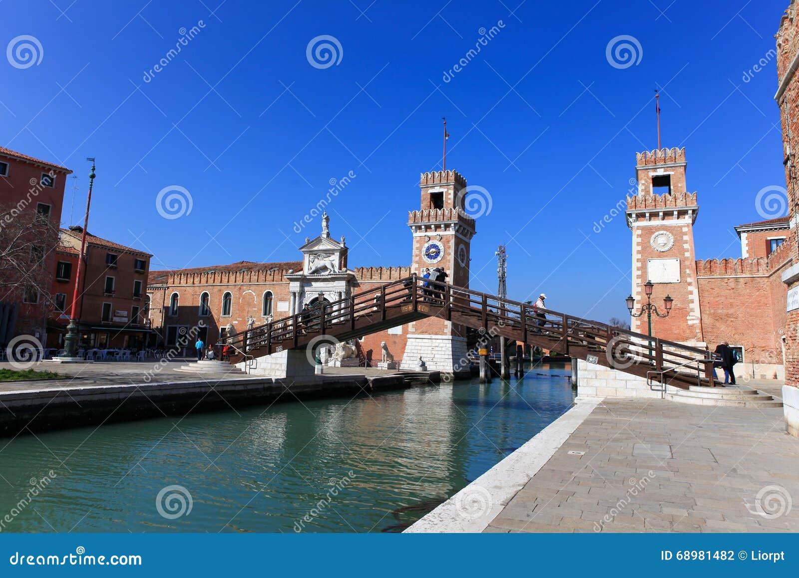 El Arsenale de Venecia