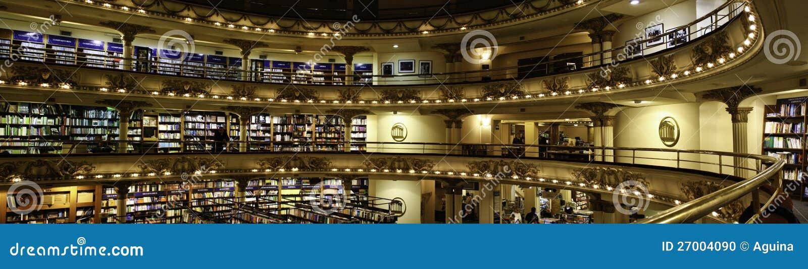 El Ateneo -书店-布宜诺斯艾利斯