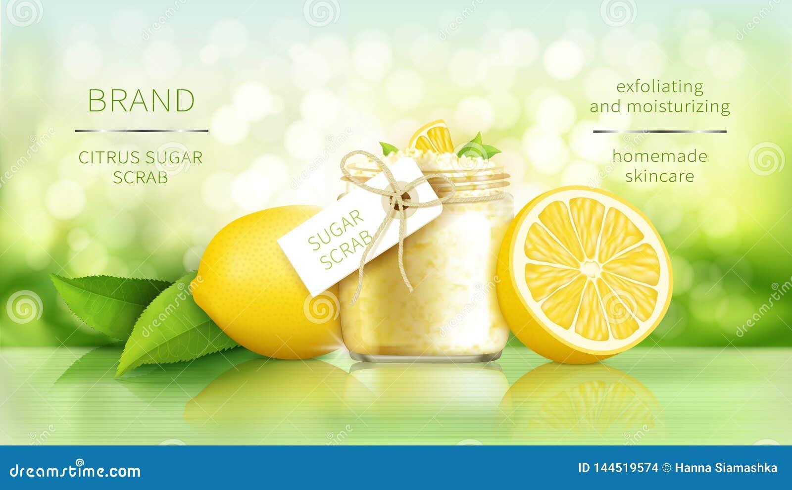 El azúcar friega con el limón