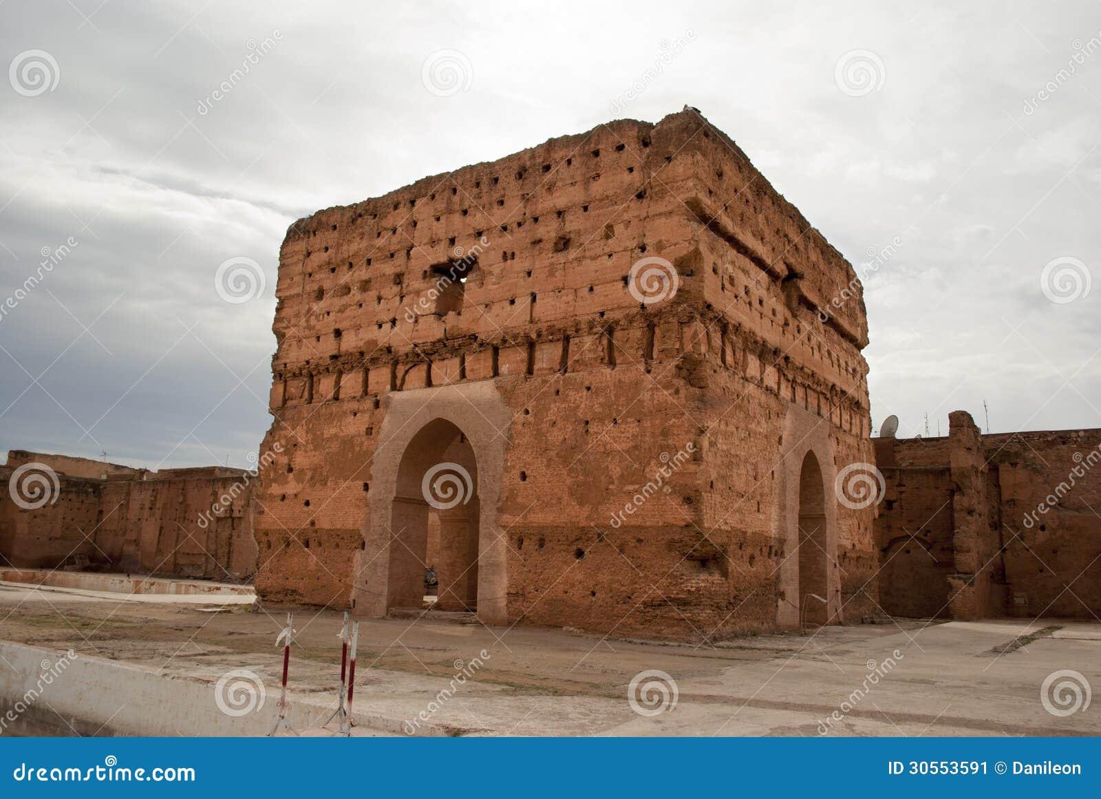 EL Badi Palace a Marrakesh