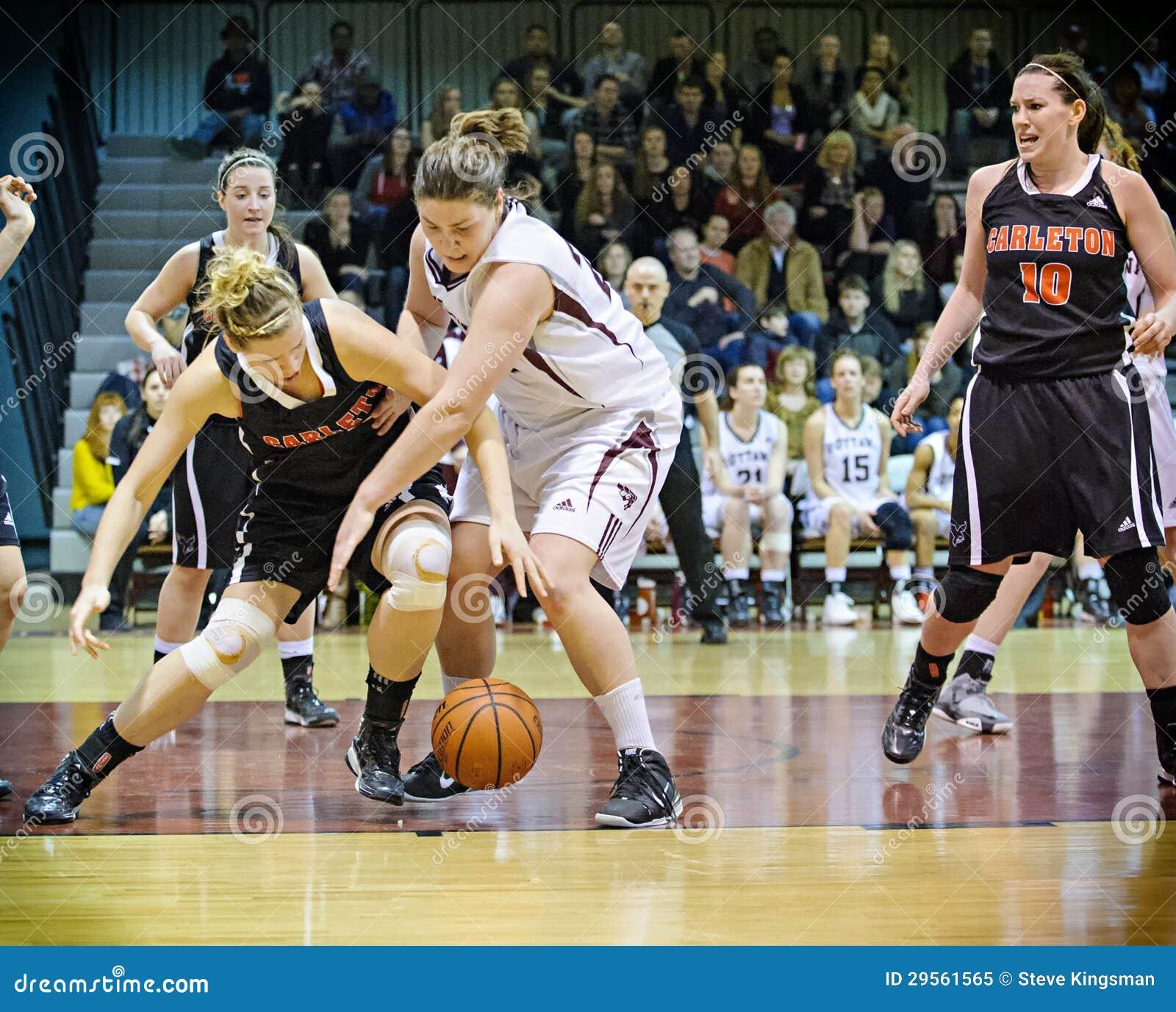 El baloncesto de las mujeres