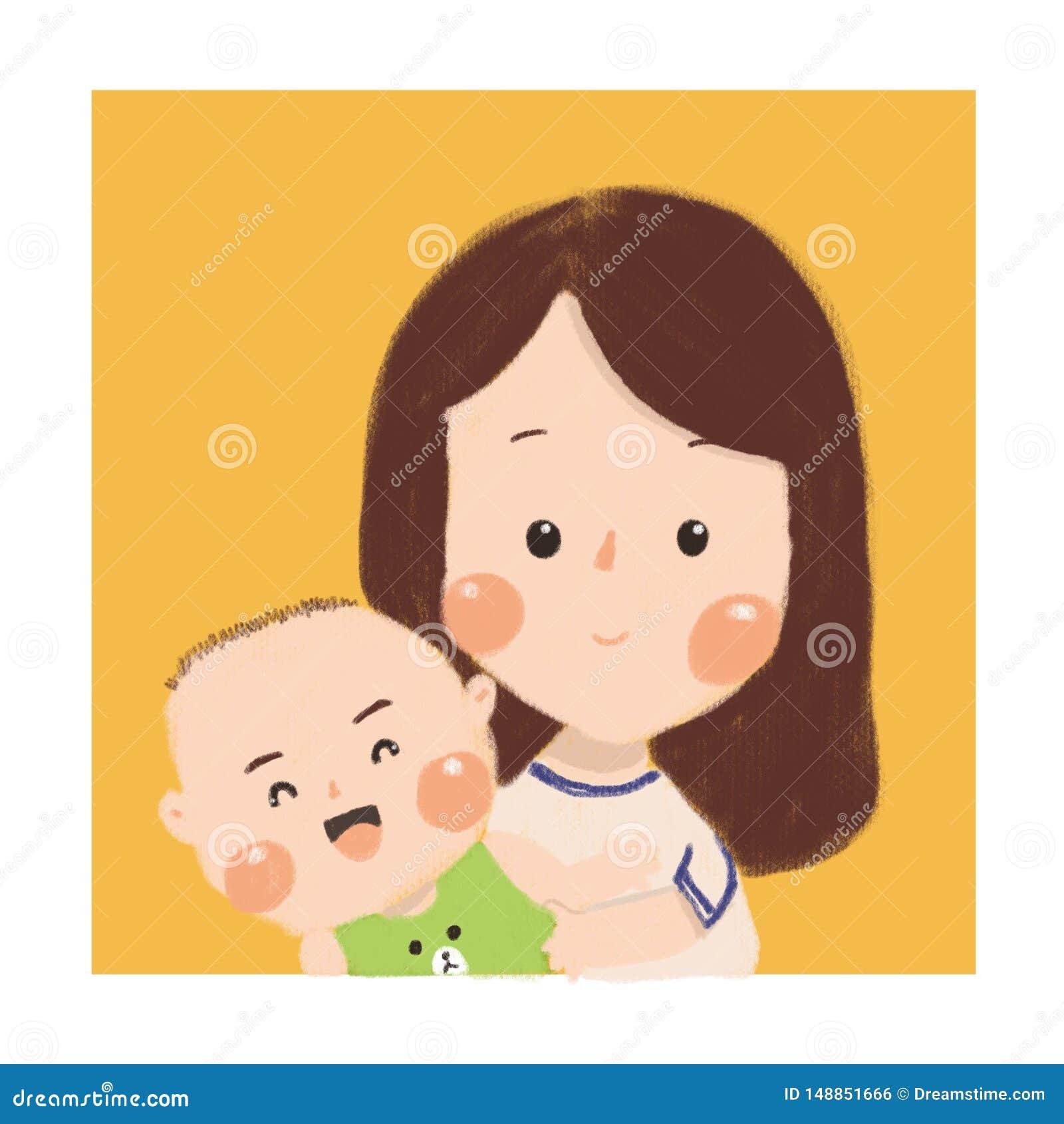 El bebé de la madre es el mejor bebé