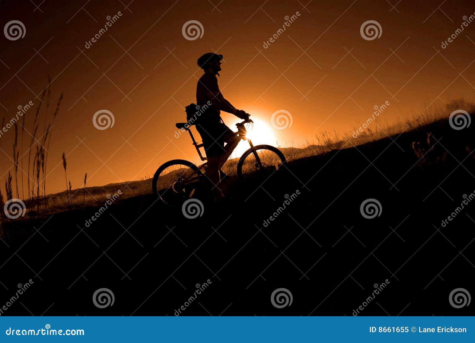 El Biking de la montaña