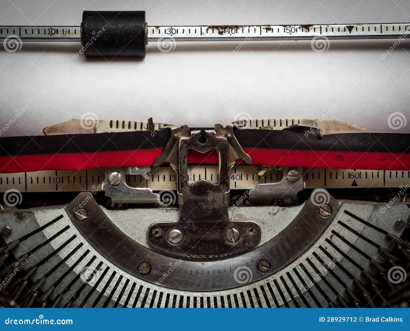El bloque del programa de escritura