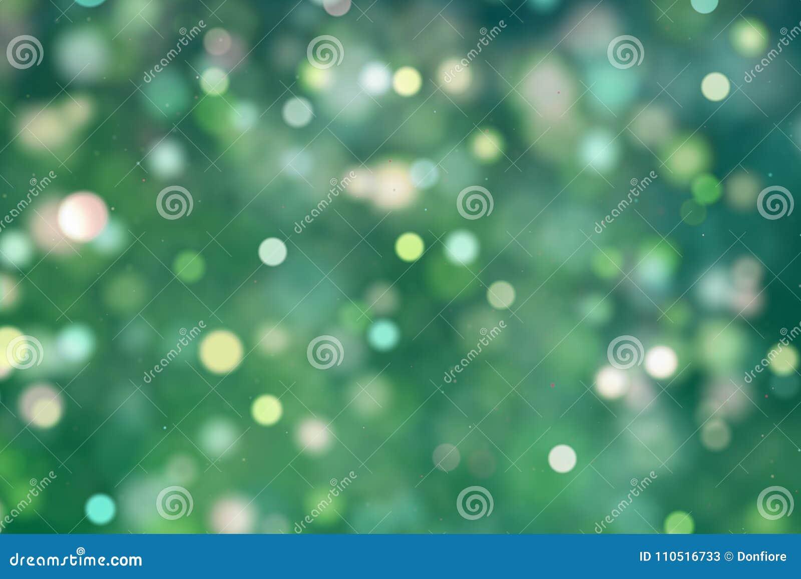 El Brillo Digital De La Navidad Chispea Las Partículas Amarillas ...
