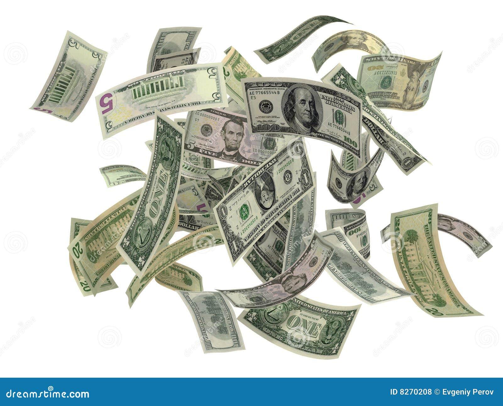 El caer de dólar americano