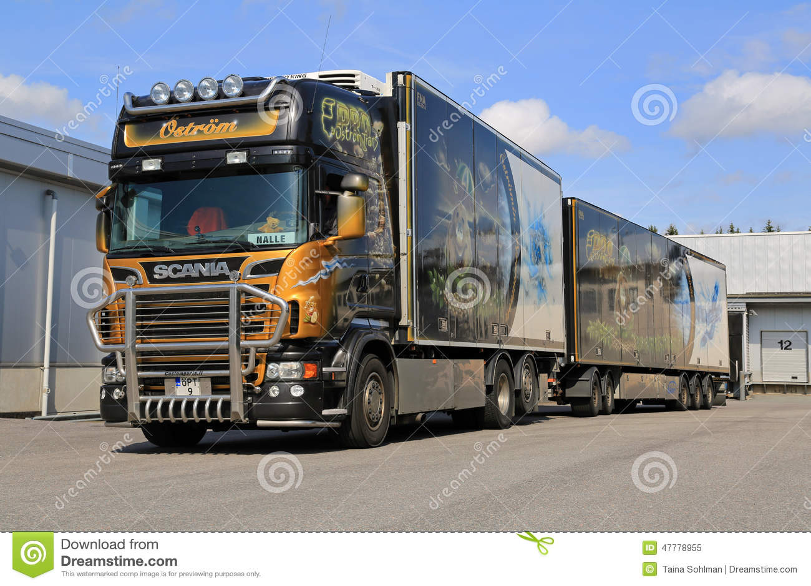 el cami243n de remolque complementado de scania v8
