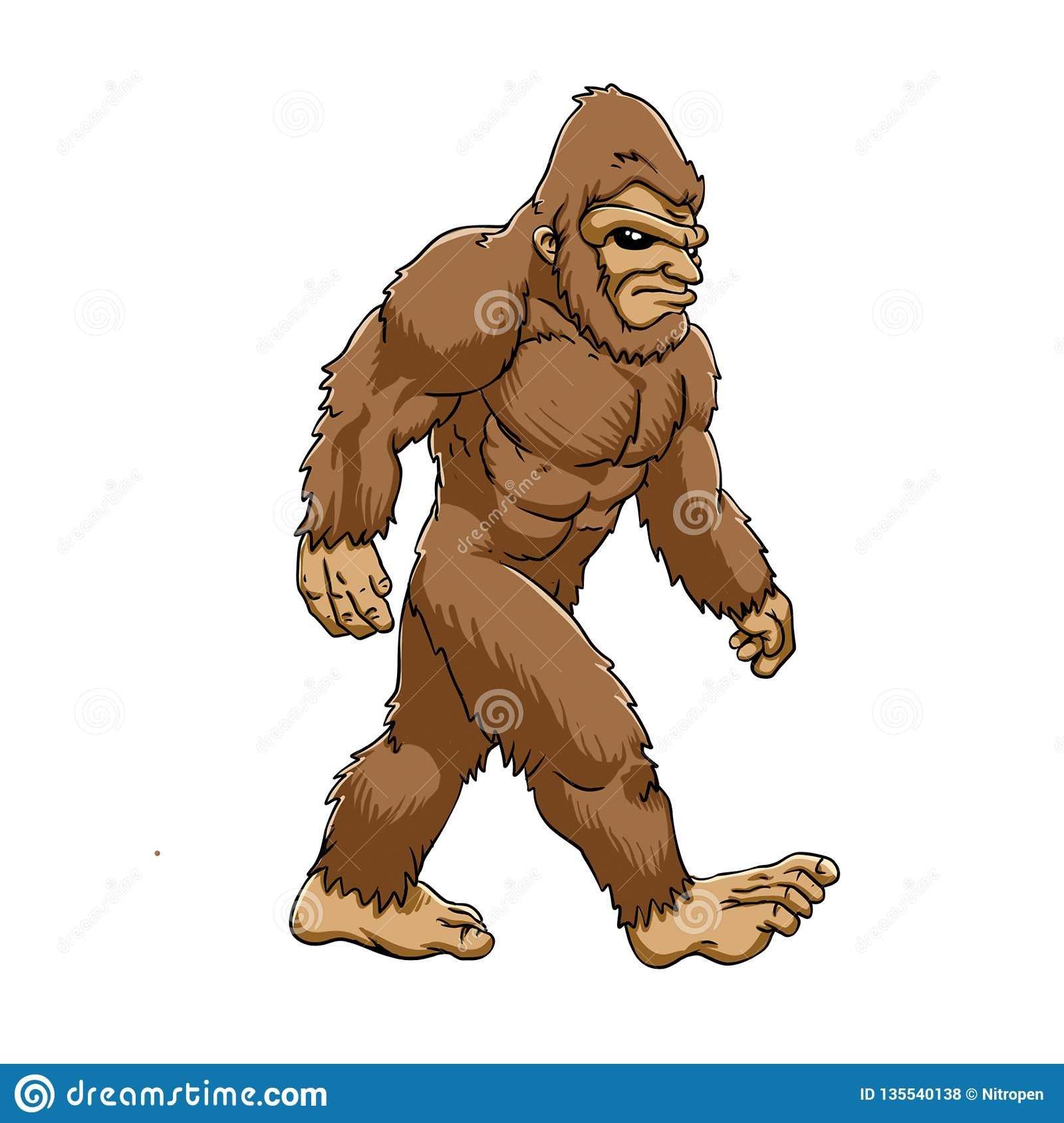 El caminar de Bigfoot
