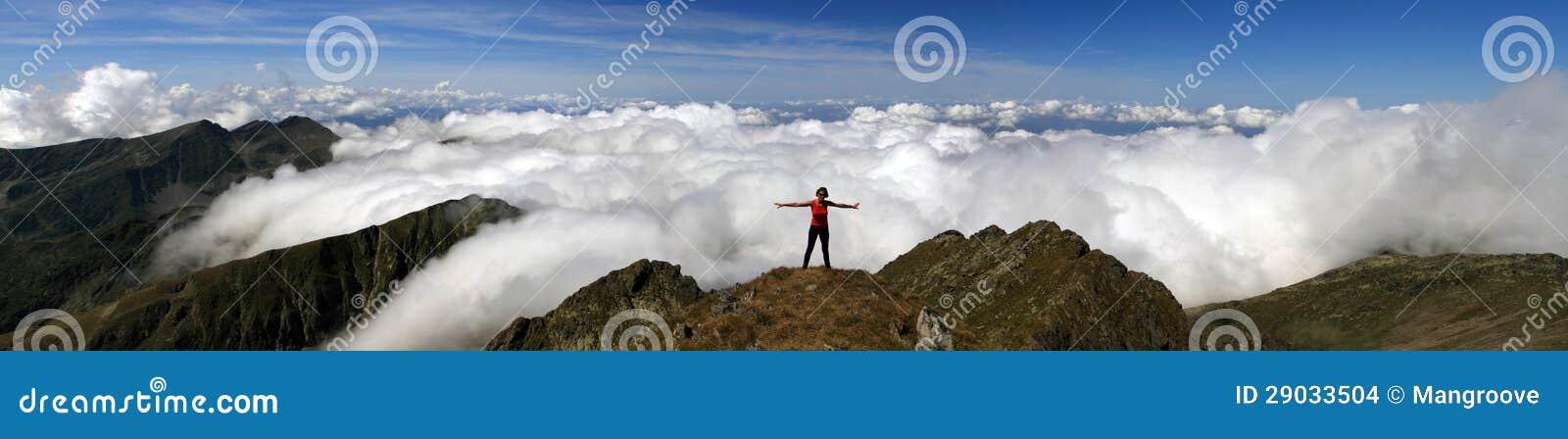 El caminar de la montaña