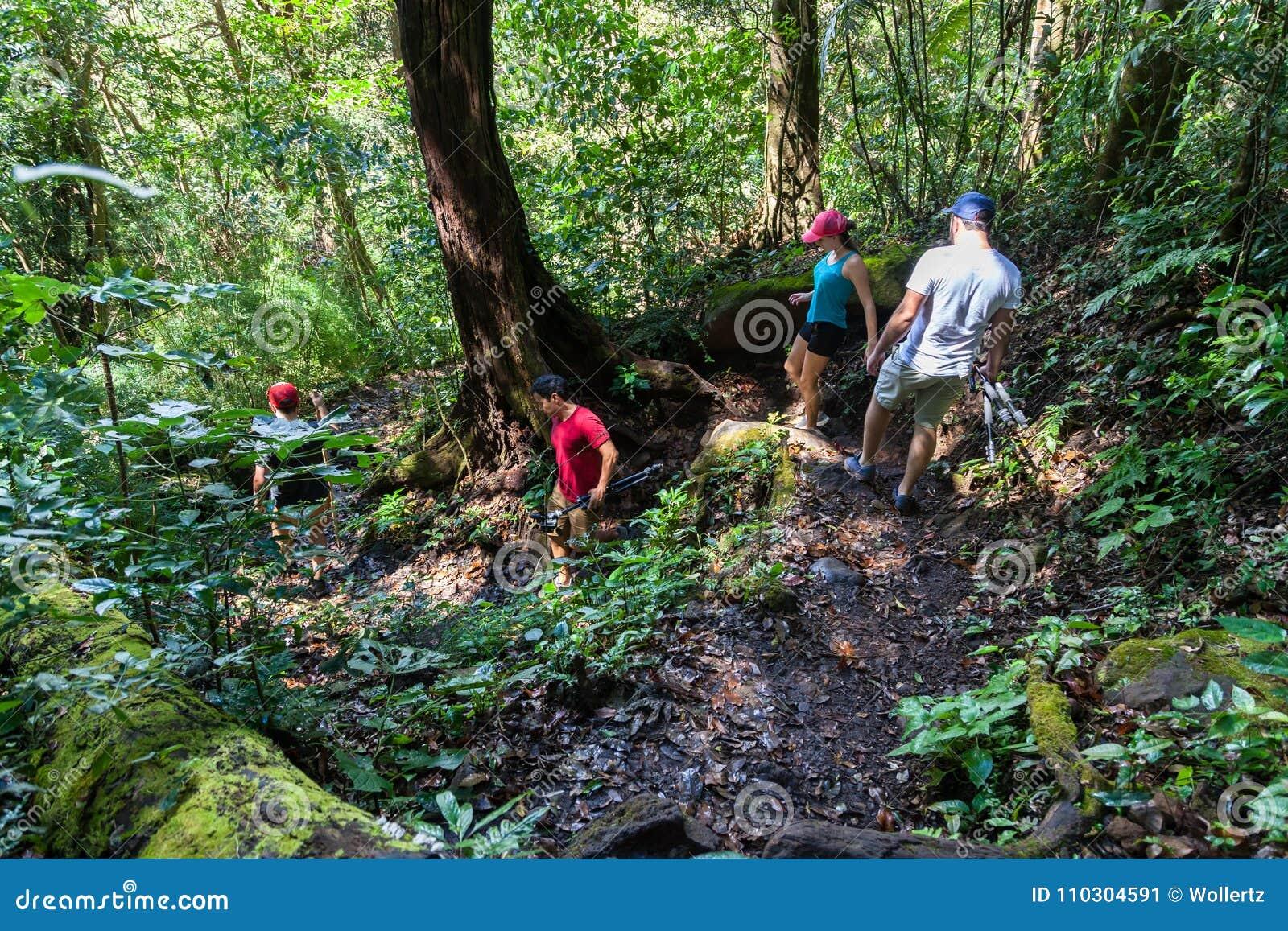 El caminar en Costa Rica