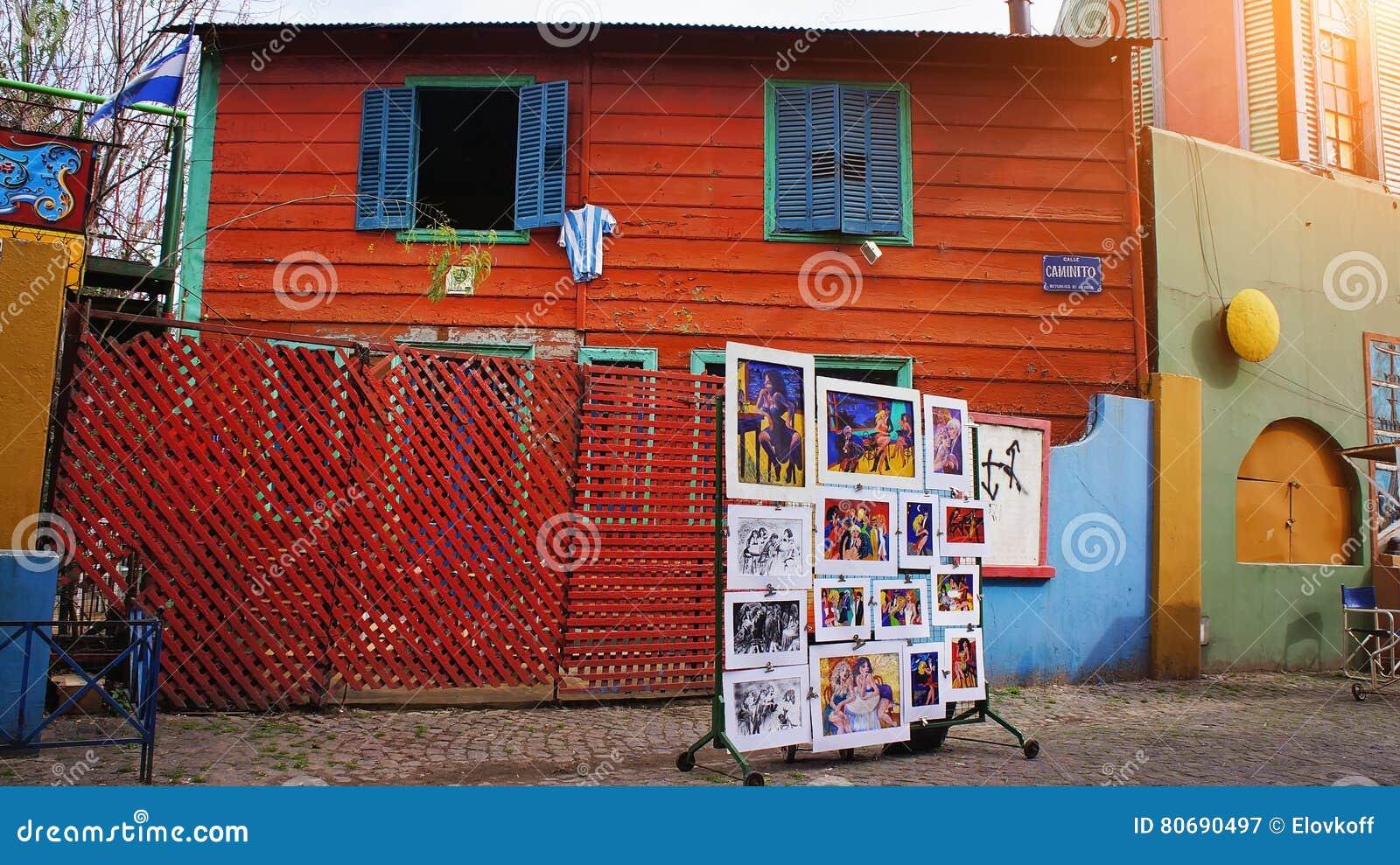 El Caminito, Buenos Aires, La Boca