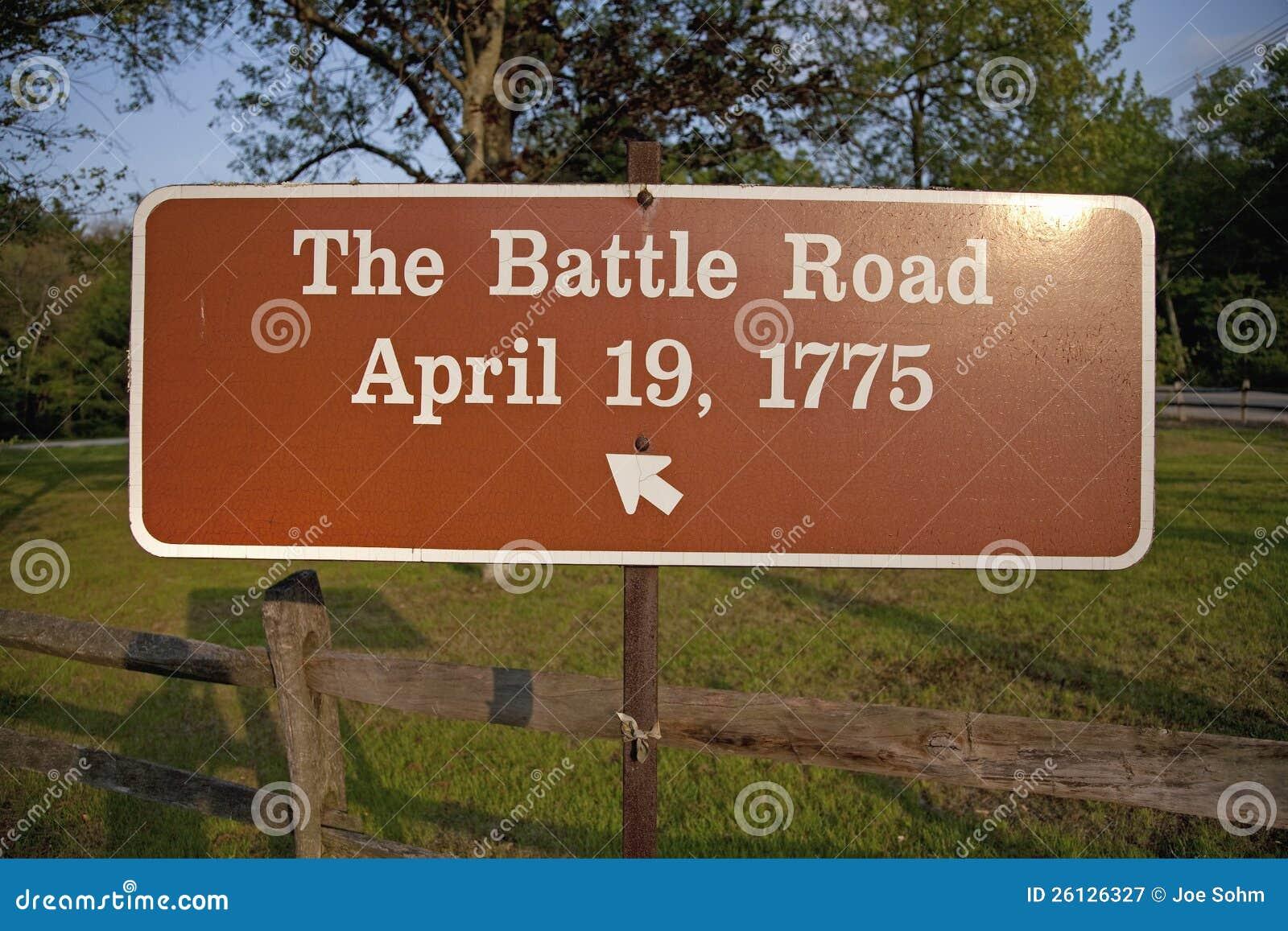 El camino de la batalla