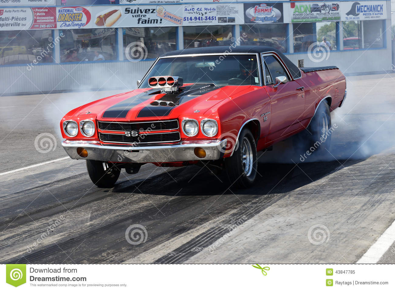 Drag Racing Editorial Image Image 43847785