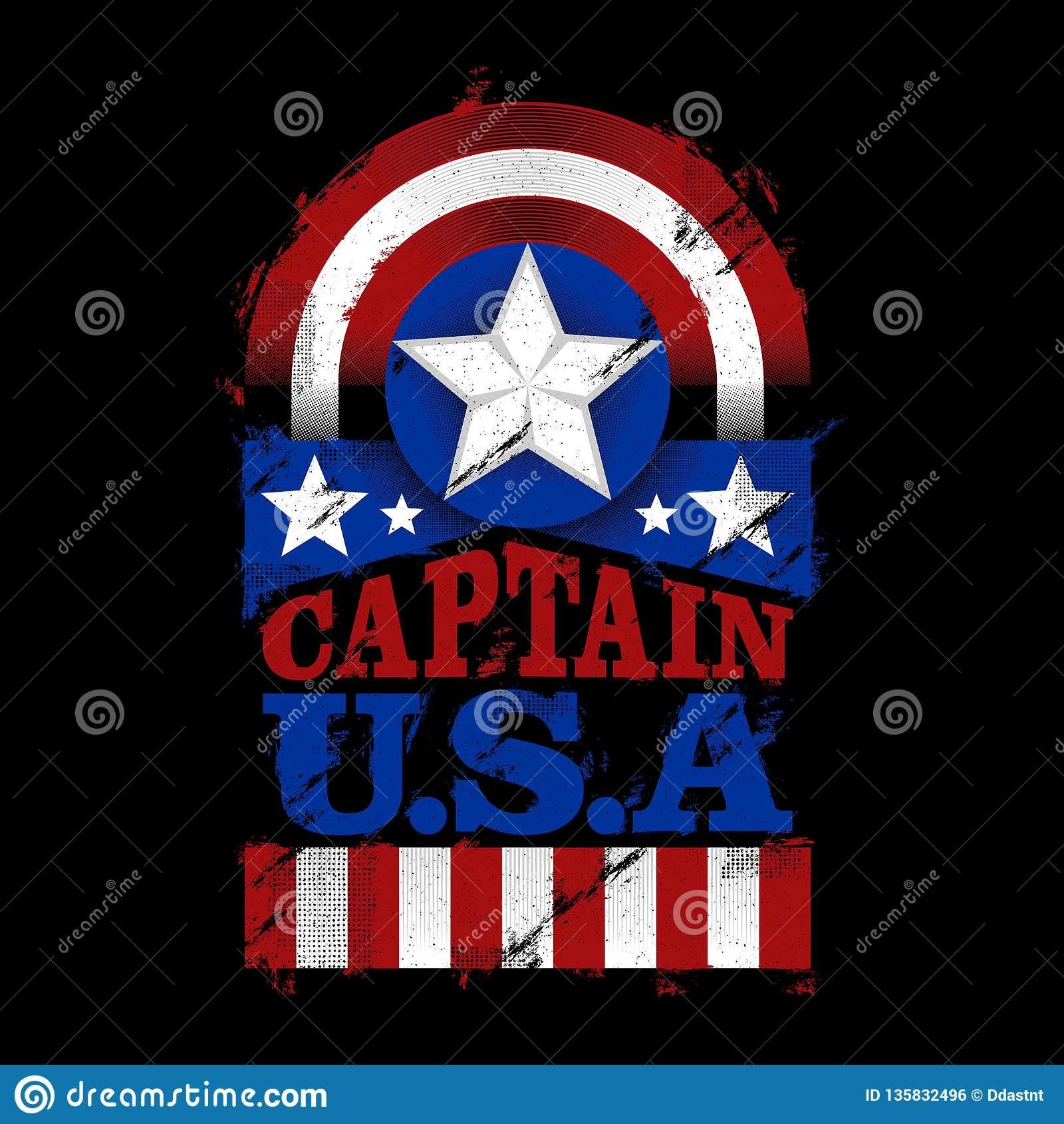 El capitán U S A