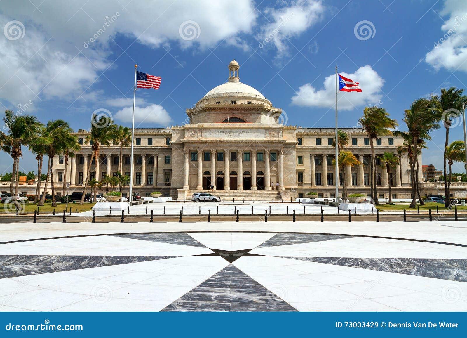 El capitolio de Puerto Rico