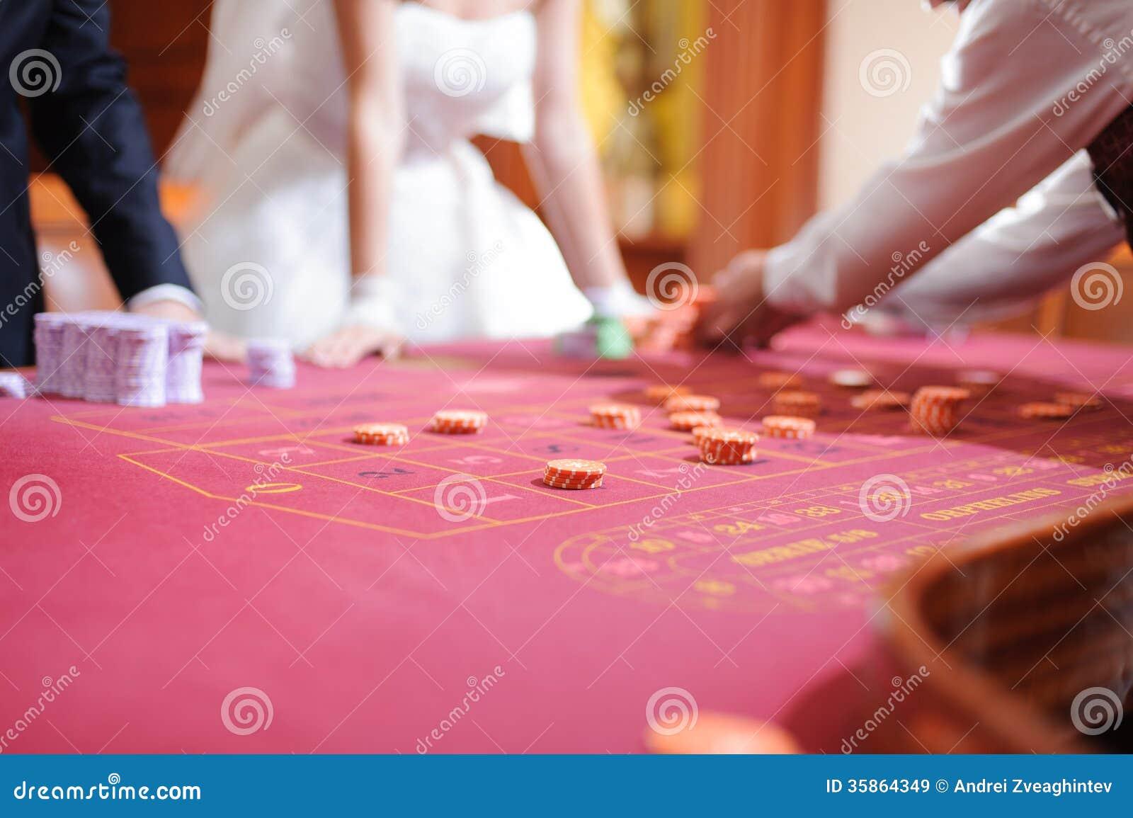 El casarse en casino