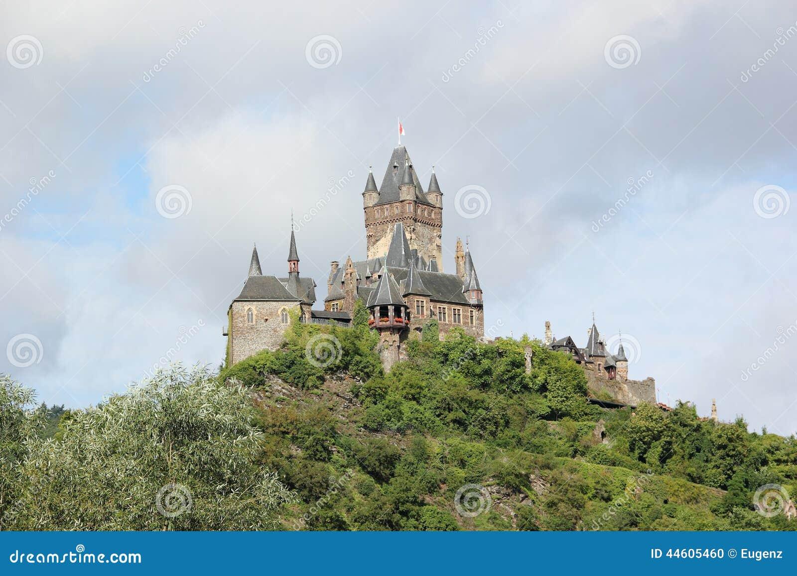 El castillo imperial de Cochem (Reichsburg), Alemania