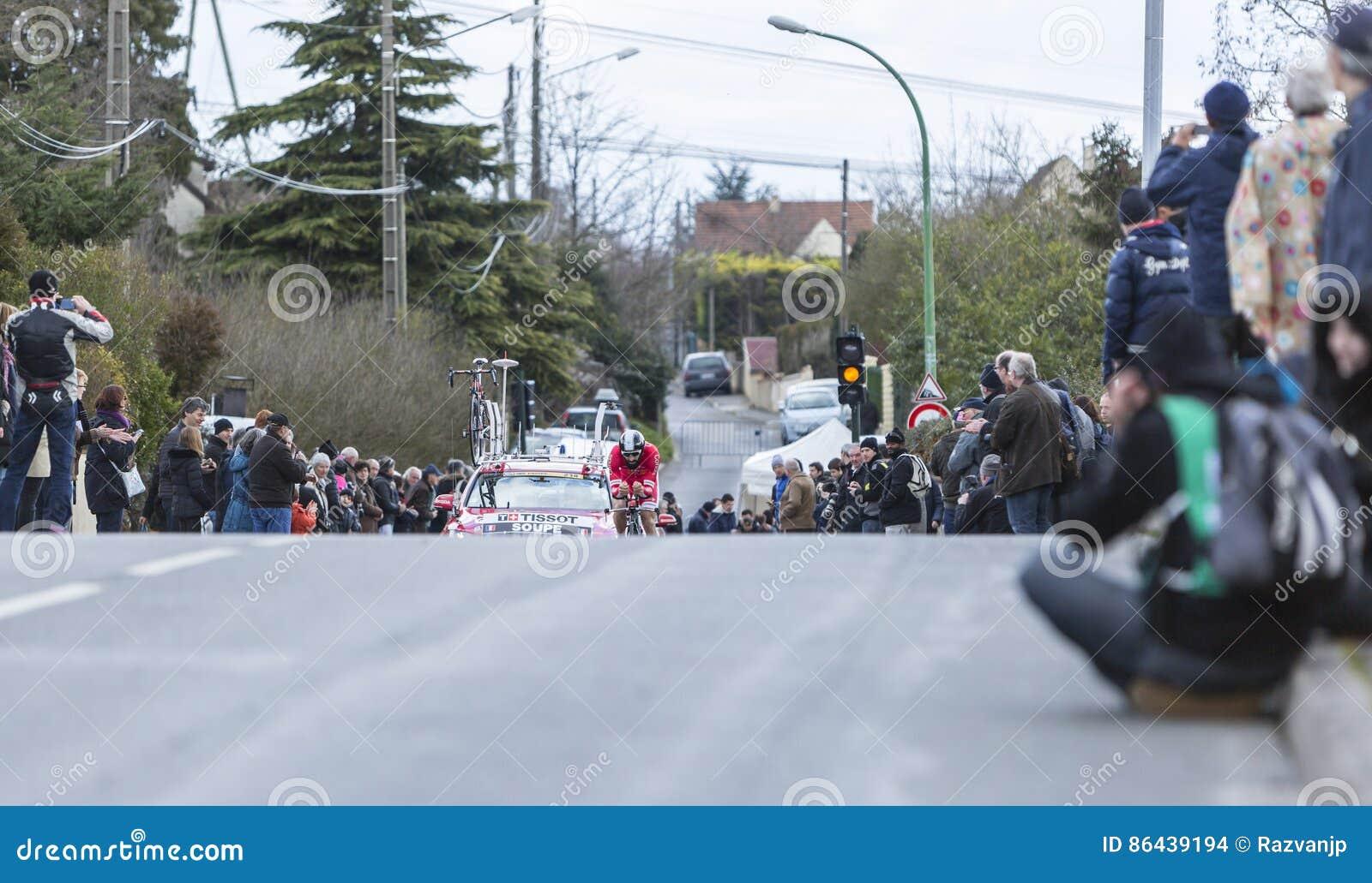 El ciclista Geoffrey Soupe - 2016 París-agradable