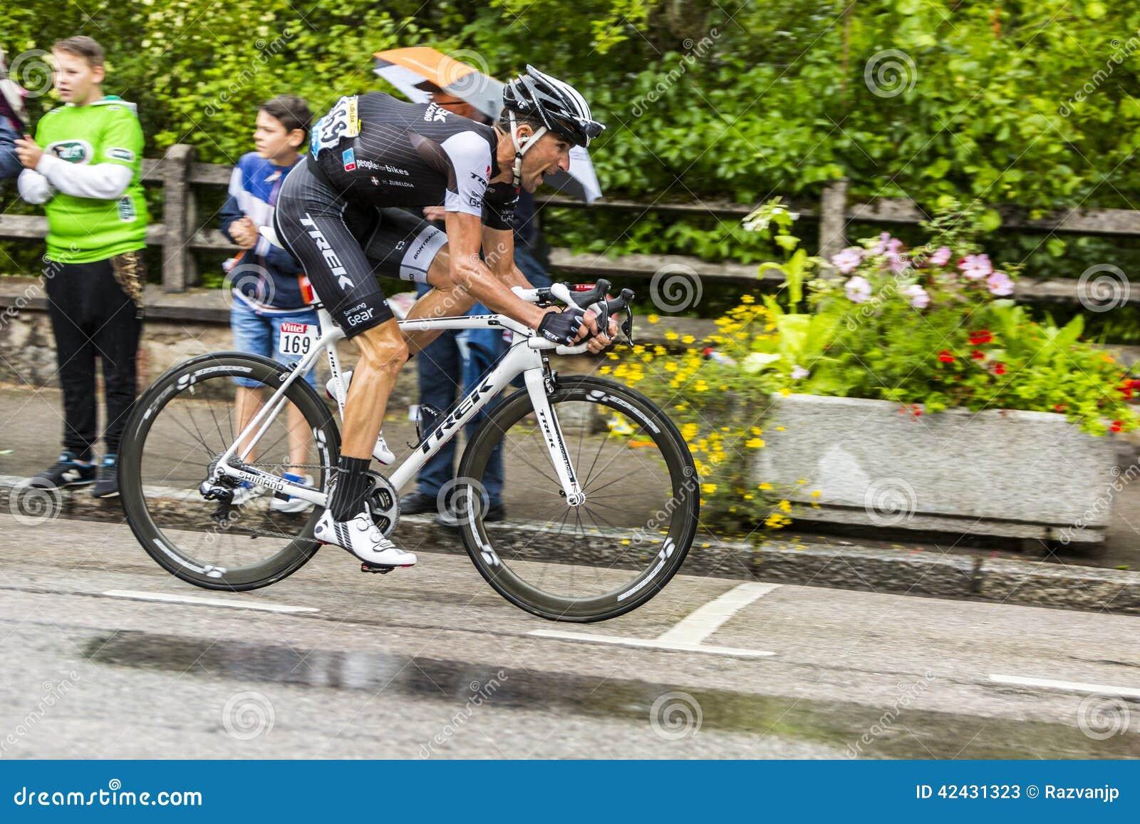 El ciclista Haimar Zubeldia