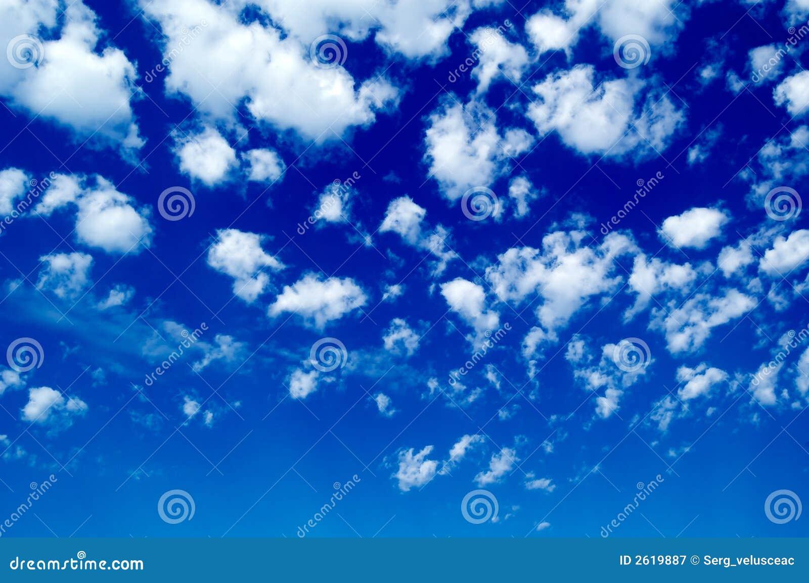 El cielo.