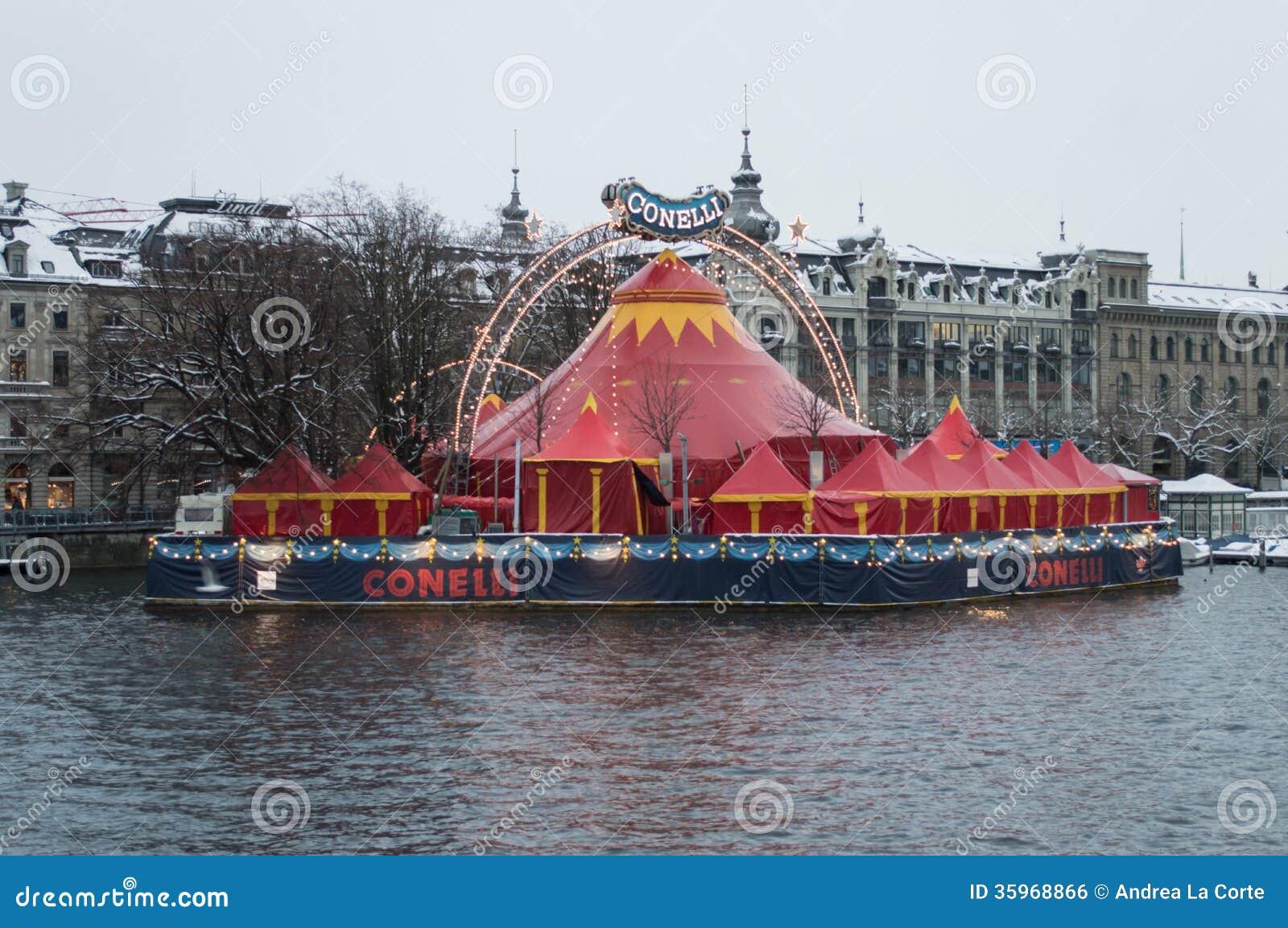 El circo de Conelli en Zurich