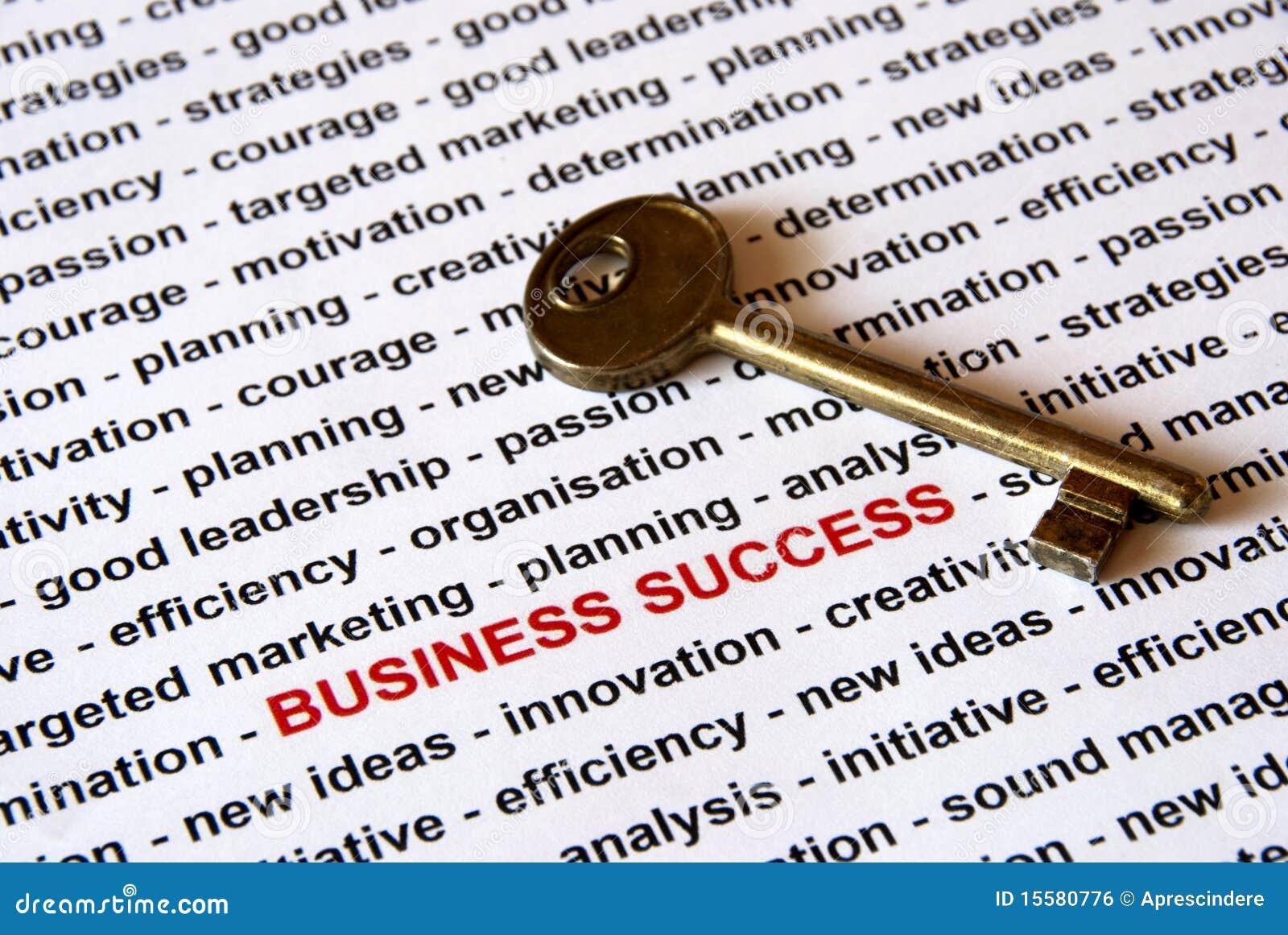 El clave del éxito de asunto