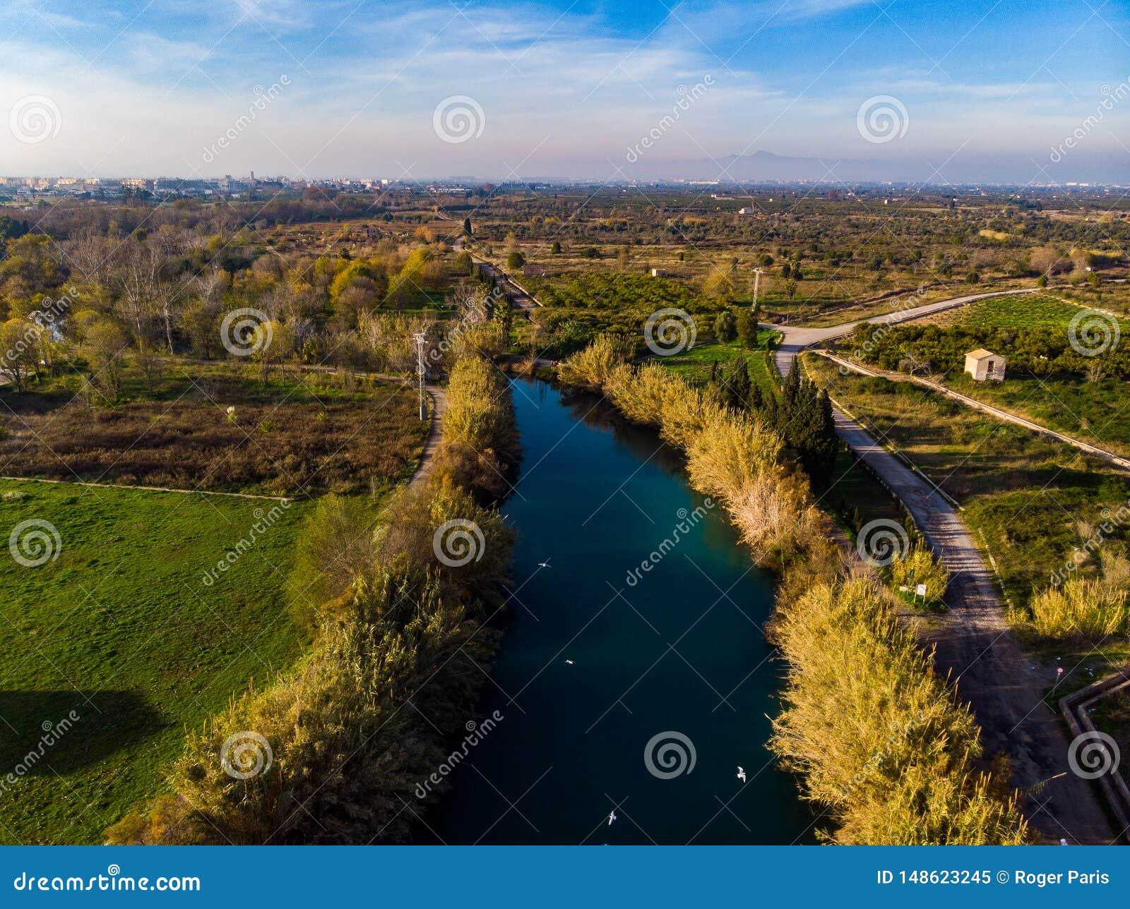 El Clot. River in Burriana. Spain