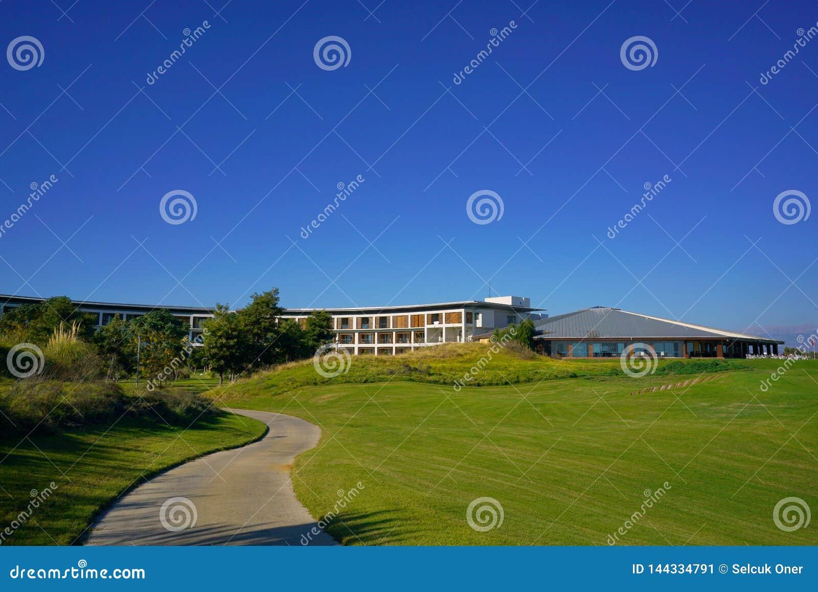 El club de golf